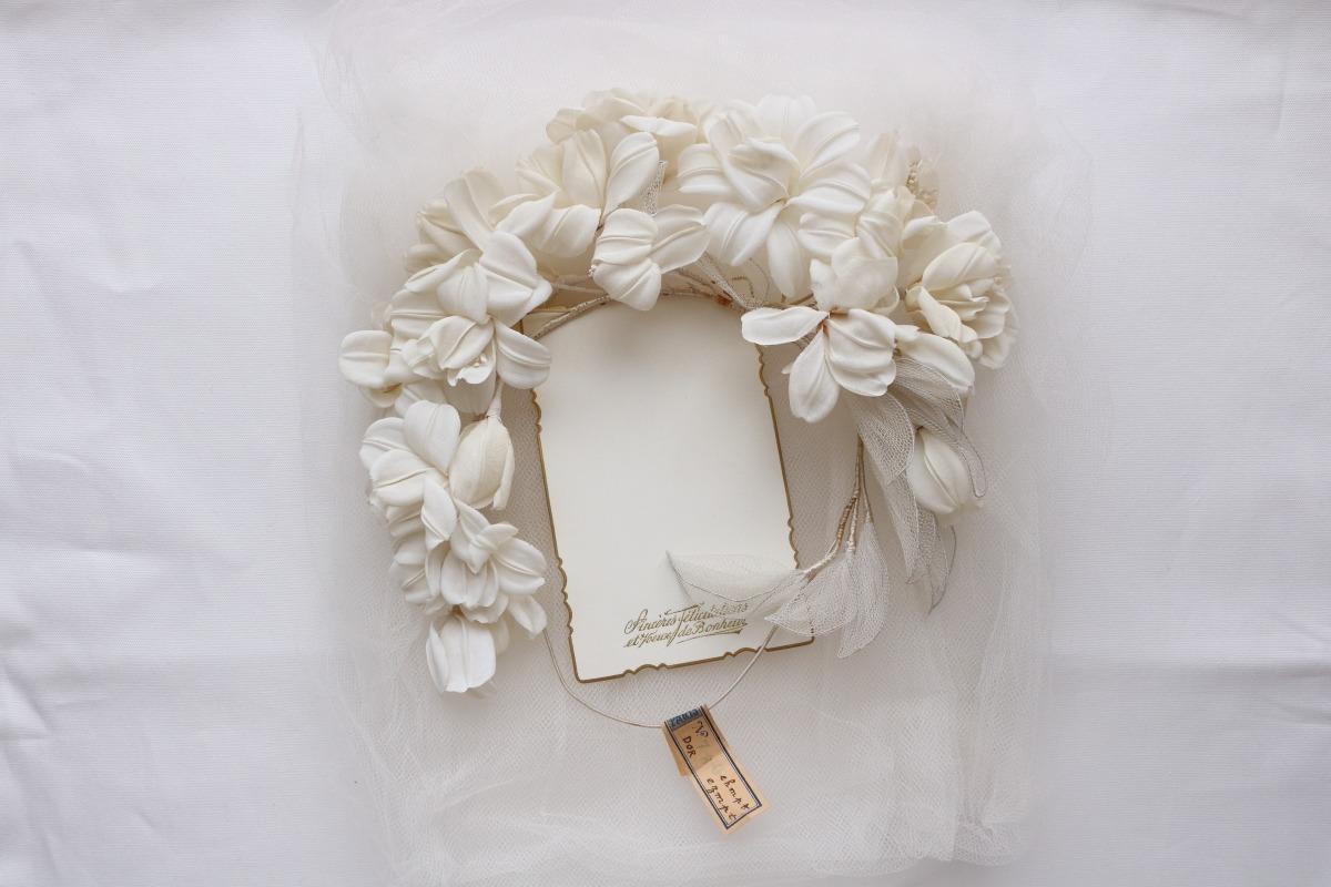 アンティーク ユリの花冠