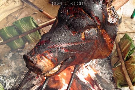 冬瓜豚の料理