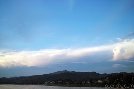 メコン川の空