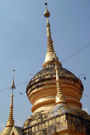 西双版納の寺院