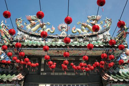 ペナンの儒教の寺院