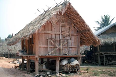 ラオスの村
