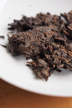 黄印7572七子餅茶99年プーアル茶
