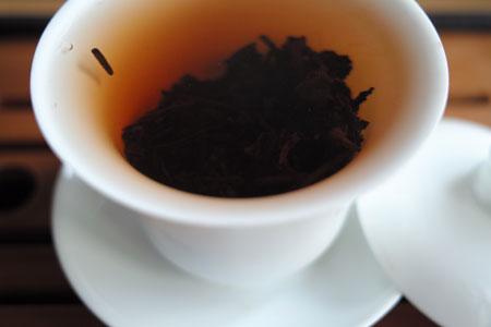 大益五級熟茶磚06年プーアル茶
