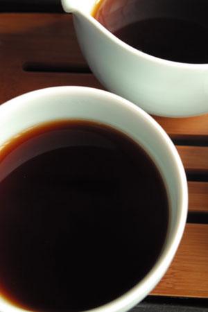 大益茶磚老茶頭06年プーアル茶
