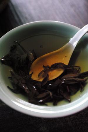 雲南餐月2012年プーアル茶