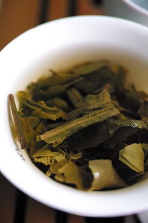 孟庫春暁小青餅12年プーアル茶