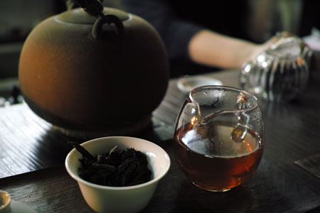 8582七子餅茶99年プーアル茶