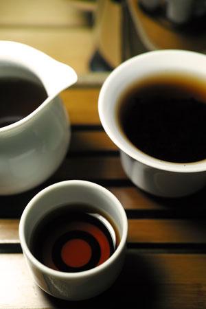 下関銷法沱茶00年プーアル茶