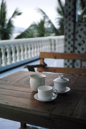 巴達章朗青餅2009年プーアル茶