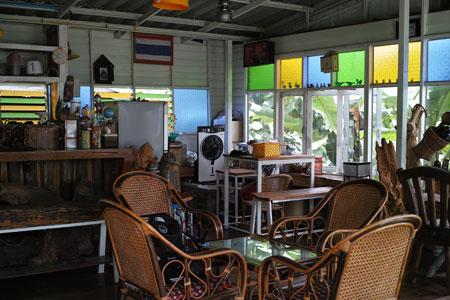 タイのカフェ