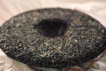 南糯山の餅茶