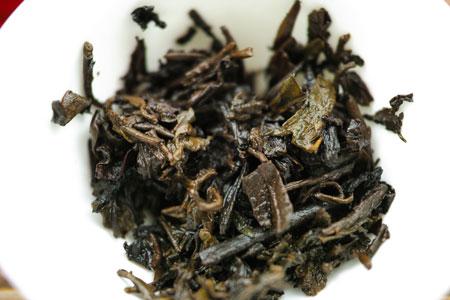 大益銷台熟茶磚90年代プーアル茶