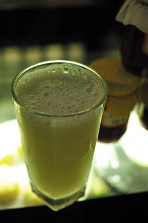 梨のジュース