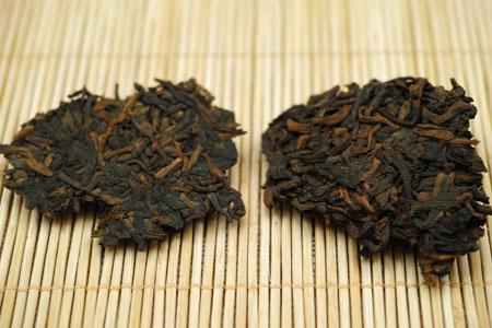 中茶牌臻品黄印熟餅13年プーアル茶