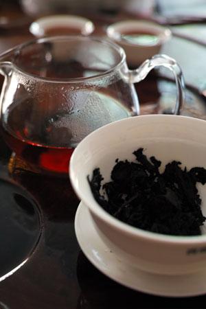 臨滄古樹圓茶・プーアル熟茶