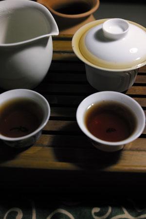 易武老散茶B1960年代プーアル茶