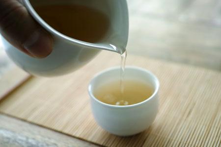 ラオス瑶族の散茶2013年プーアル茶