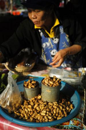 自然栽培ピーナッツ