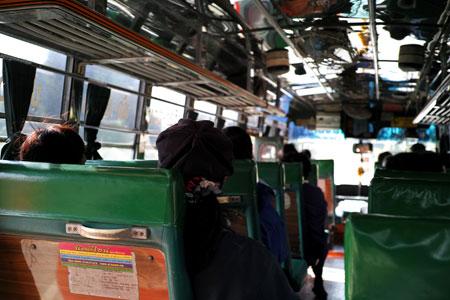 チェンライ県のバス
