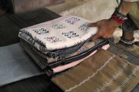 タイ北部の布