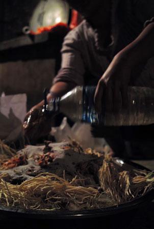 易武山の発酵食品づくり