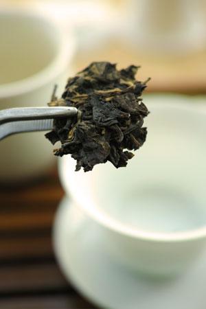 中茶牌65周年青磚03年プーアル茶