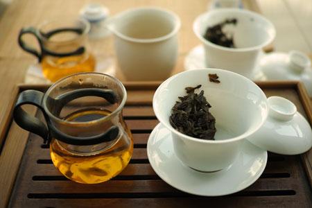 老樹圓プーアル茶