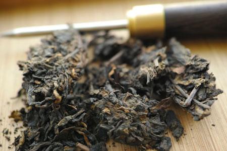 2002年熟茶プーアル茶