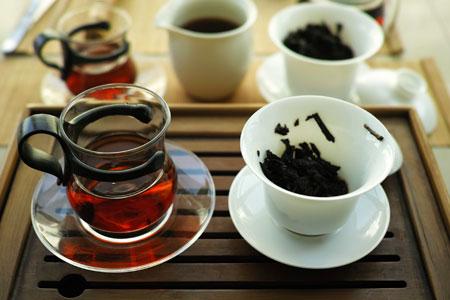 2002年の熟茶プーアル茶