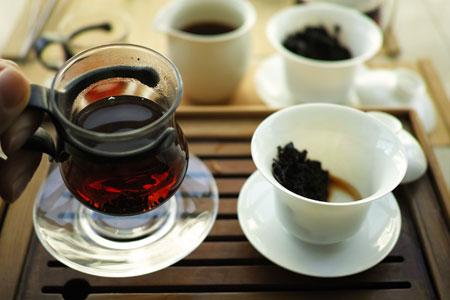 1999年の熟茶プーアル茶