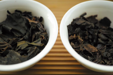 下関美術字鉄餅90年代プーアル茶と中茶牌3917沱茶93年プーアル茶