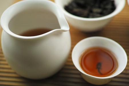 下関美術字鉄餅90年代プーアル茶
