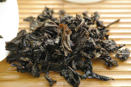 大益銷台A熟茶磚96年プーアル茶