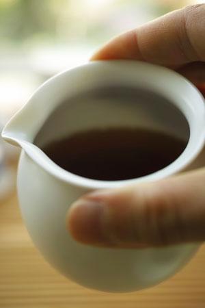 白磁の茶海