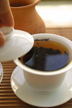 2007年の磚茶プーアル茶