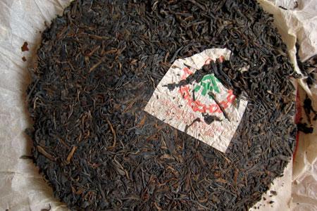 7542七子餅茶90年代初期プーアル茶