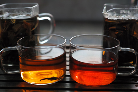 丁家老寨でつくった紅茶