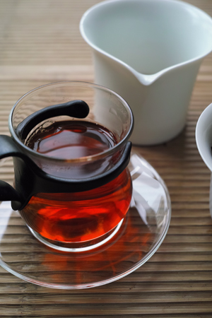 老字号可以興茶磚80年代プーアル茶