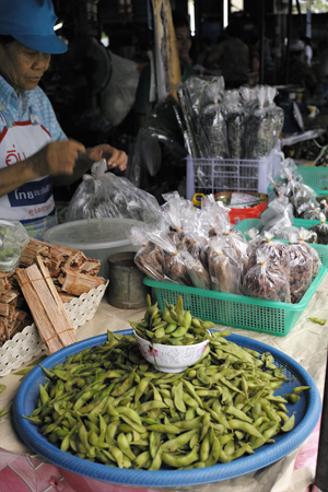 チェンコーンの豆