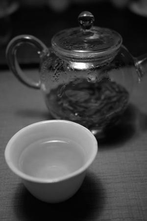 日本の白茶
