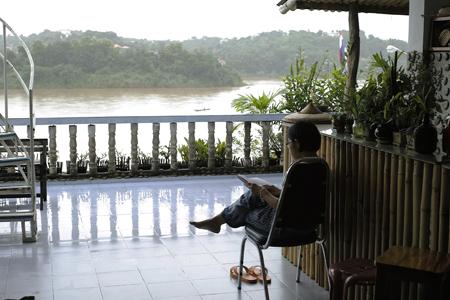 メコン川の宿