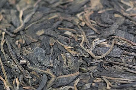 金花のプーアル茶