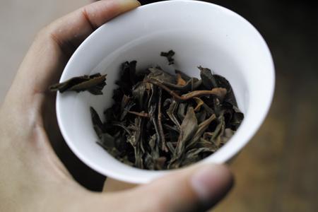 南糯山七子餅茶2007年プーアル茶