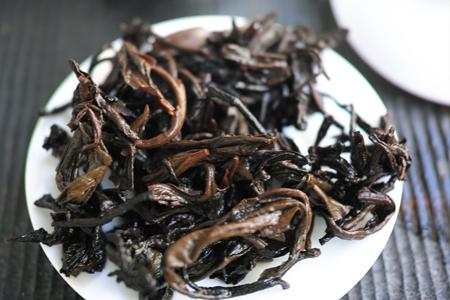 樟香老散茶1990年代プーアル茶