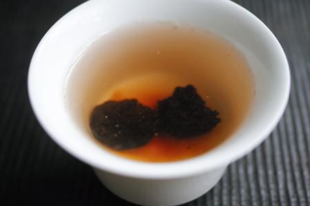 老茶頭熟茶プーアル茶