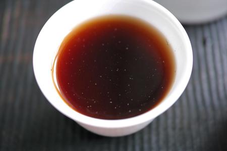 布朗大樹熟茶磚2014年プーアル茶