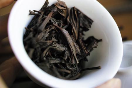 無名生態岩茶2013年