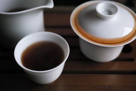 大益五子登科小餅11年プーアル茶