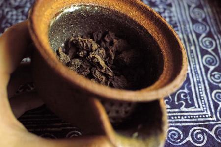 醸香老茶頭散茶90年代プーアル茶